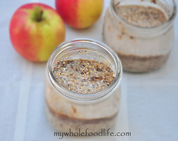 Apple Cinnamon Overnight Oats recipe photo