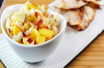 Apple Pear Salsa With Cinnamon Chips recipe photo