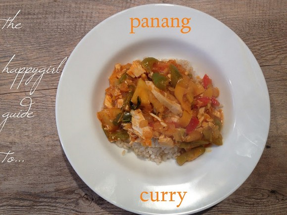 Easy, Healthy Panang Curry recipe by The Happygirl Experiment