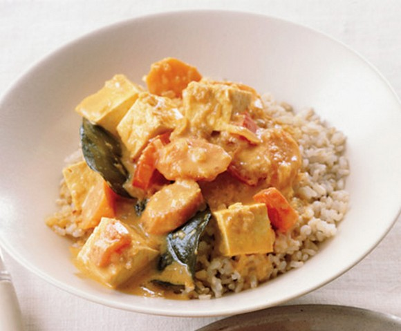 Panang Tofu Curry recipe by Epicurious