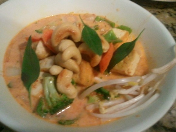 Panang curry with Tofu and Vegetables recipe by Home Cook Food