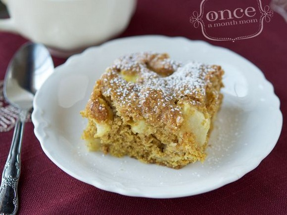 Apple Pumpkin Spice Cake recipe photo