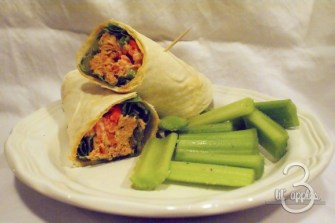 Buffalo Chicken Wraps recipe photo