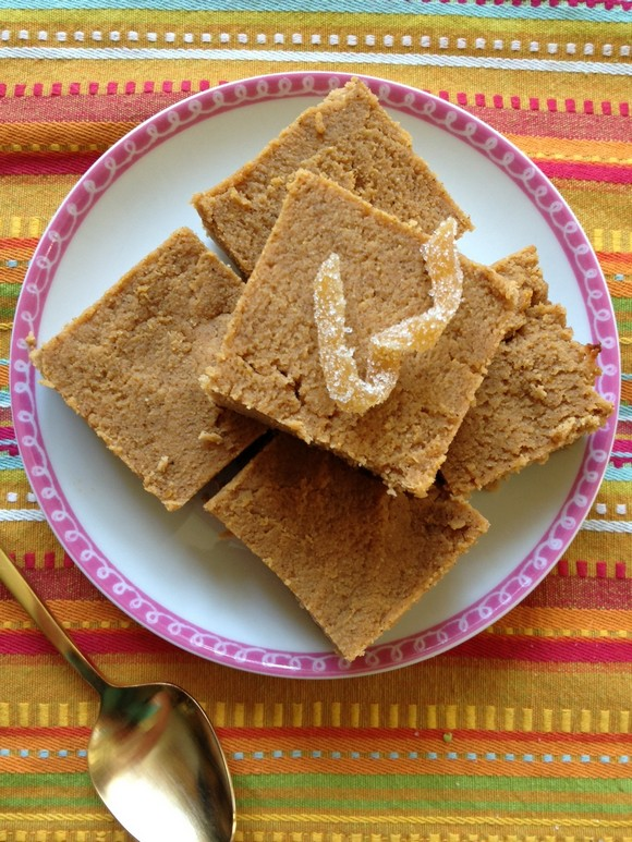 Coconut Flour Pumpkin Protein Bars recipe photo