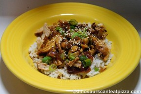Crock Pot Honey Sesame Chicken recipe photo