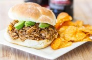 Crock Pot Root Beer Pulled Chicken recipe photo