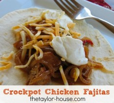 Crockpot Chicken Fajitas recipe photo
