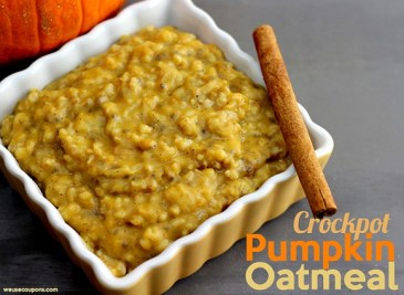 Crockpot Pumpkin Oatmeal recipe photo