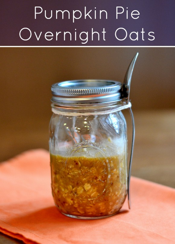 Pumpkin Pie Overnight Oats recipe photo