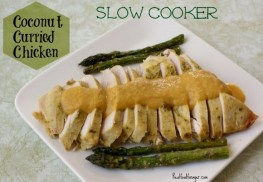 Slow Cooker Coconut Curried Chicken recipe photo