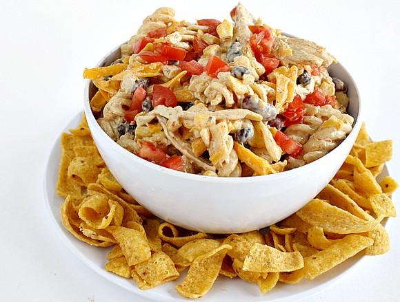 Fiesta Ranch Chicken Pasta Salad recipe photo