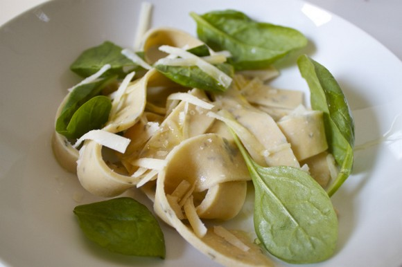 Gluten Free Chickpea and Sage Fresh Pasta recipe photo