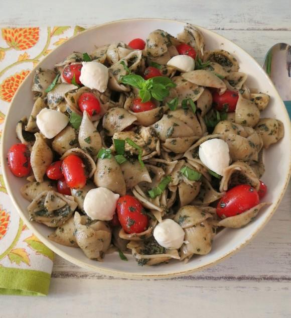 Pesto Pasta Salad recipe photo