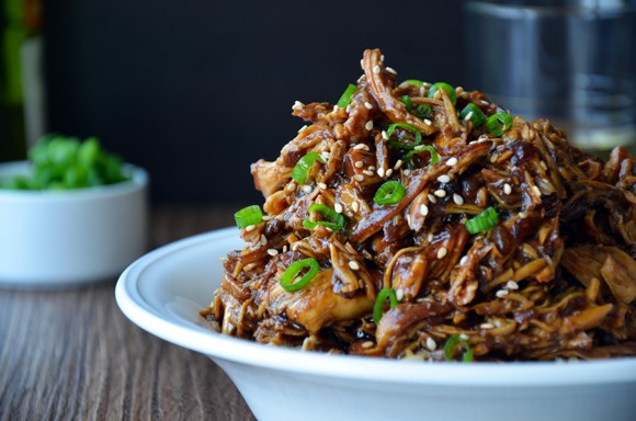 Slow Cooker Honey Garlic Chicken recipe photo