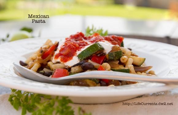 Southwestern Summer Pasta recipe photo