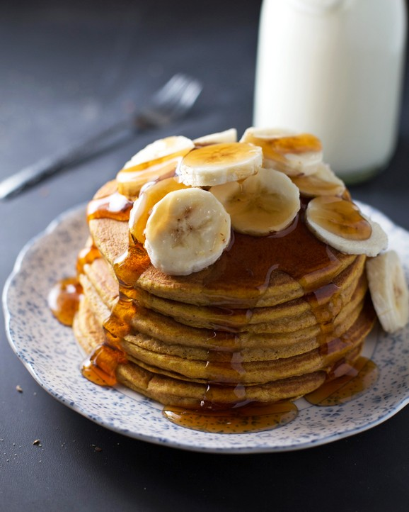Best Ever Whole Wheat Pumpkin Pancakes recipe photo