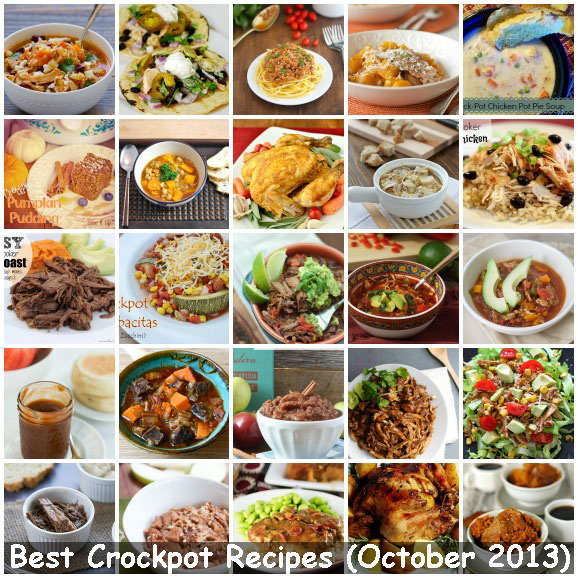 Best Crock Pot Recipes on the Net (October 2013 Edition)