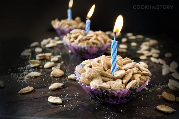 Birthday Cake Flavored Pumpkin Seeds recipe photo