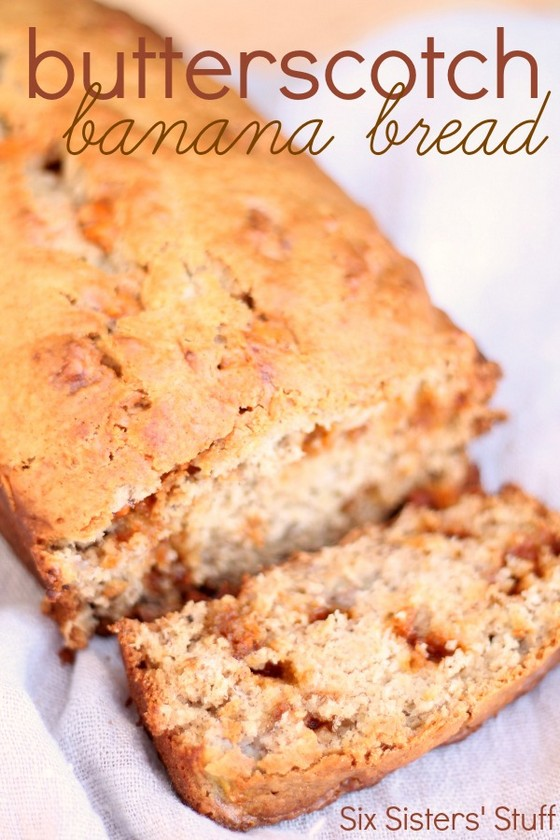 Butterscotch Banana Bread recipe photo