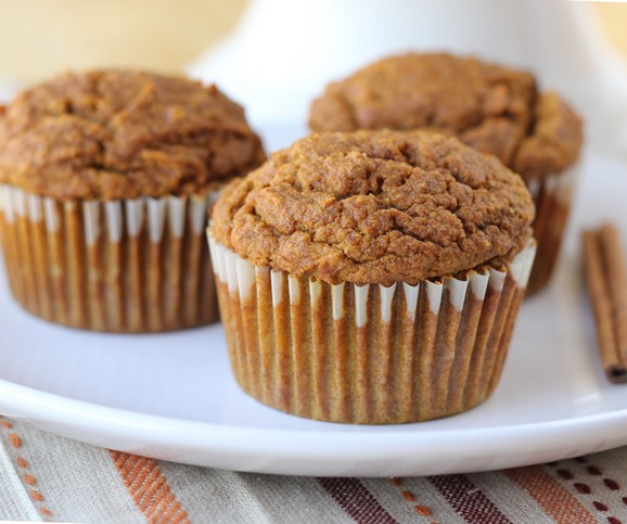 Dairy-Free, Gluten-Free Pumpkin Muffins recipe photo