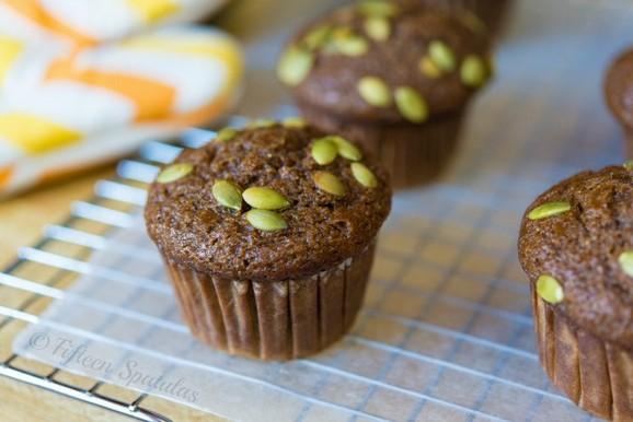 Fresh Pumpkin Spice Muffins recipe photo
