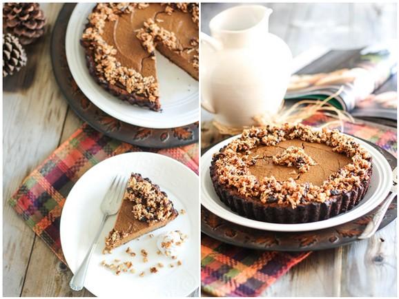 Paleo Pumpkin Pie recipe photo