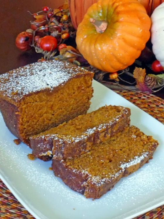 Pumpkin Pie Bread recipe photo