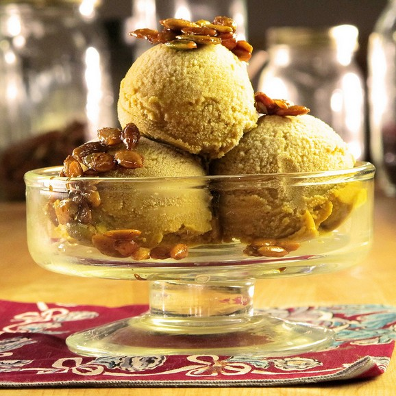 Pumpkin Pie Ice Cream recipe photo