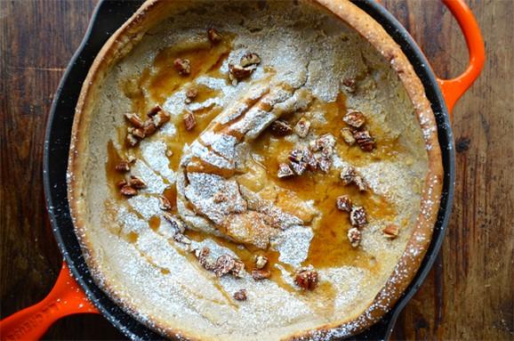 Pumpkin Spice Dutch Baby Pancake recipe photo