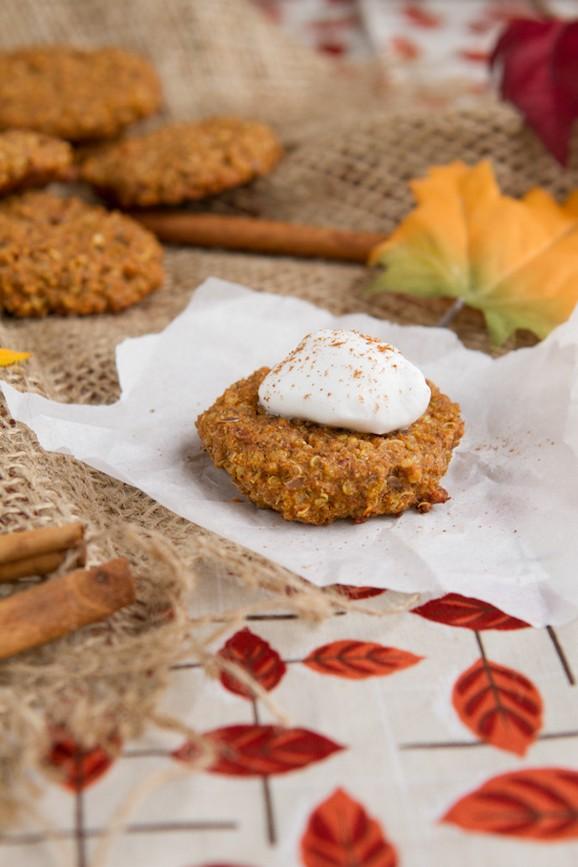 Pumpkin Spice Quinoa Breakfast Cookies recipe photo