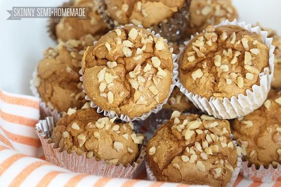 Skinny Pumpkin Spice Muffins recipe photo