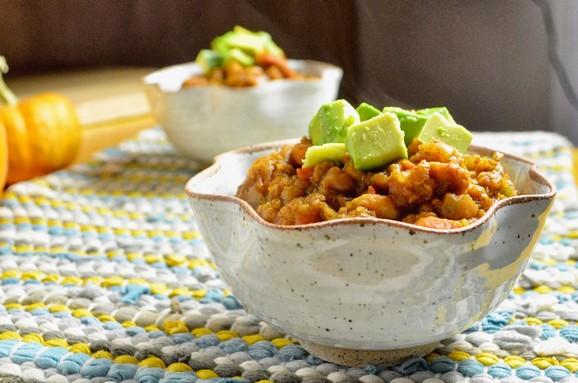 Slow Cooker Pumpkin Chili recipe photo