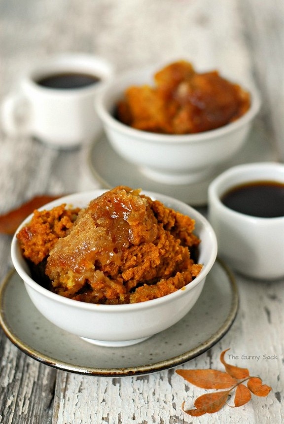Slow Cooker Pumpkin Cobbler recipe photo