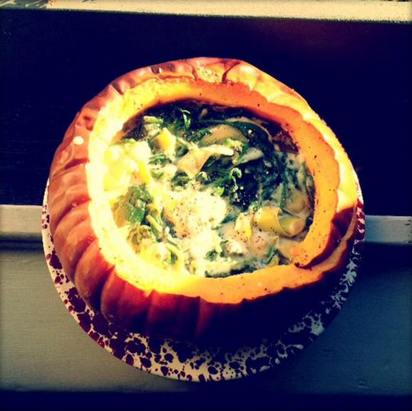 Whole Pumpkin Pie recipe photo