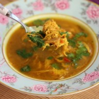 Aromatic & Hot Chicken Soup recipe photo