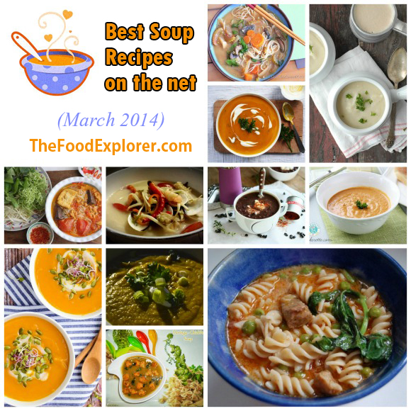 Best Soup Recipes on the Net (March 2014 Edition)