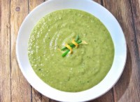 Cream of Asparagus and Mushroom Soup recipe photo
