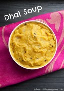 Dhal Soup with Dumplings recipe photo