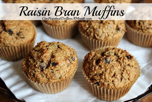 Raisin Bran Muffins recipe photo