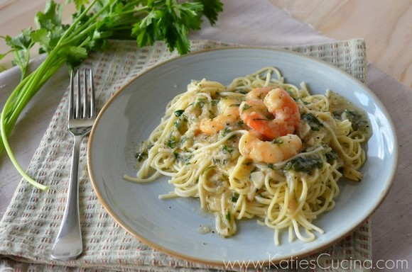 Shrimp Scampi Pasta recipe photo