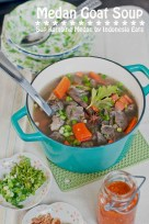 Sup Kambing Medan (Goat Soup) recipe photo