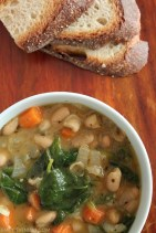 Tuscan Bean Soup recipe photo