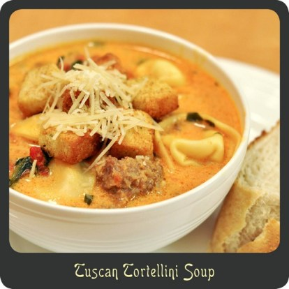 Tuscan Tortellini Soup recipe photo