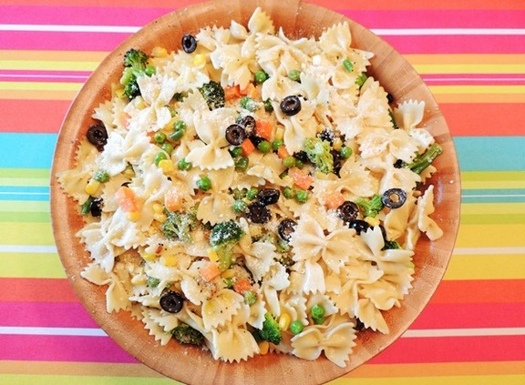 4th Of July Pasta Salad recipe