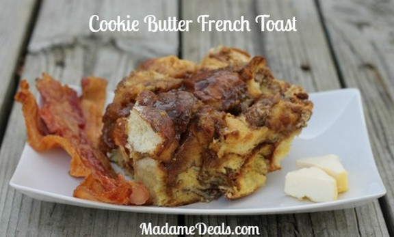 Cookie Butter Kid French Toast recipe