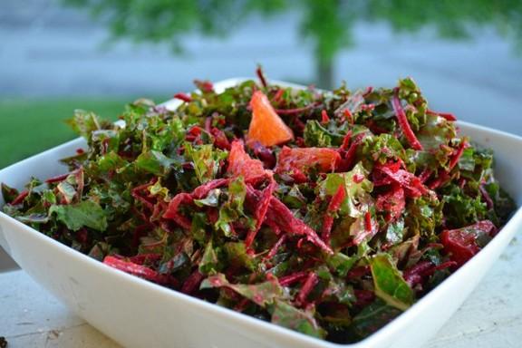 Fresh Beetroot and Orange Salad recipe