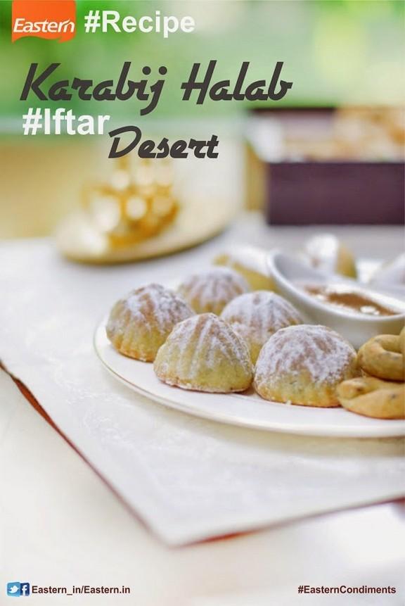 Karabij Halab (Middle Eastern Dessert) recipe