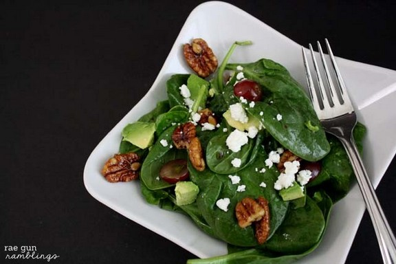 Maple Pecan Salad recipe