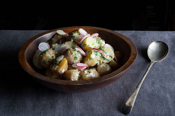 Mother's Potato Salad recipe