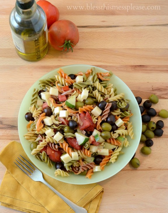 Pasta Salad for a Party recipe
